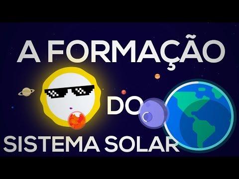 A Formação do Sistema Solar