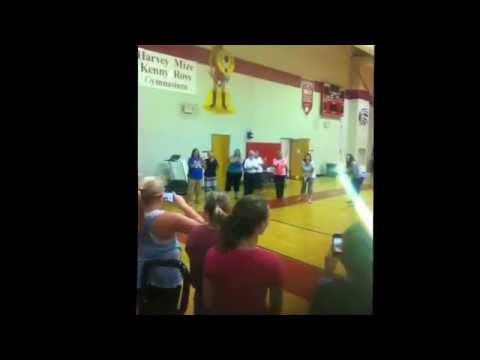 McEwen Junior High School Dancing!!