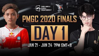 [Russian] PMGC Finals Day 1 | Qualcomm | PUBG MOBILE Global Championship 2020
