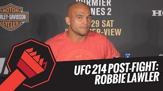 UFC 214 Post-Fight Press Conference: Robbie Lawler