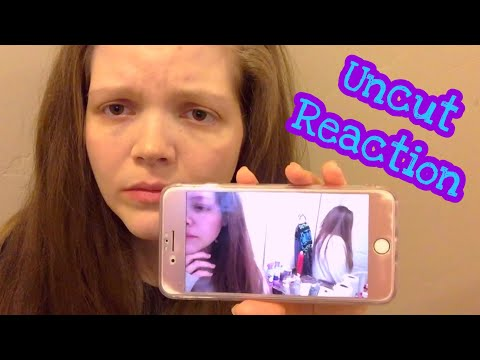 """Reacting to """"A Day in the Life of a Bulimic""""  ⚠️ *this was HARD for me 😜"""
