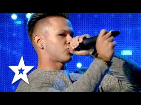 Born Beatboxer Bogdan Branc   Auditions Week 7   Românii au talent