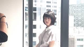 7/10発売、メンズノンノ撮影風景。 16歳の美少女・浜辺美波さんのウェブ...