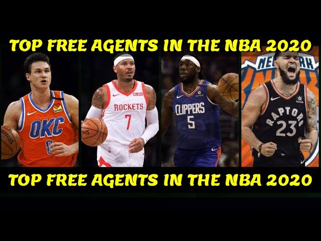 Top Free Agents in the NBA right now