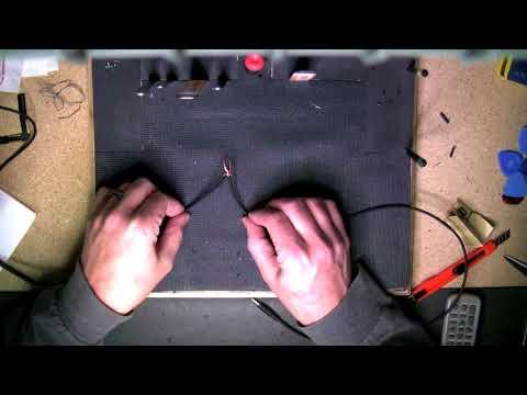 DIY Headphone Repair - Micro wire with plastic / acrylic coating (non-solder version)