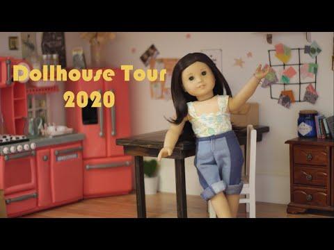 American Girl Dollhouse Tour 2020 ~ VioletDollies