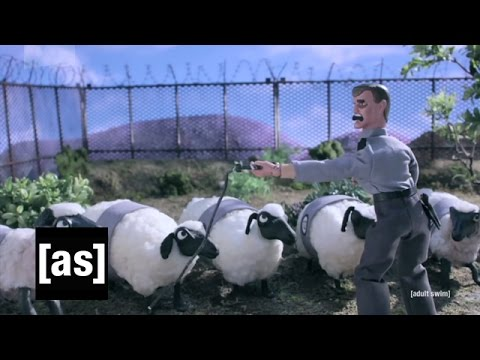 Counting Sheep | Robot Chicken | Adult Swim