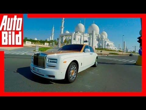Jeden Tag ein Auto für Abu Dhabi Scheich