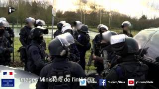 Dammartin-en-Goële : les images officielles de l'assaut