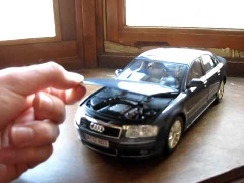 Review Of 1/18 Audi A8 By Motormax