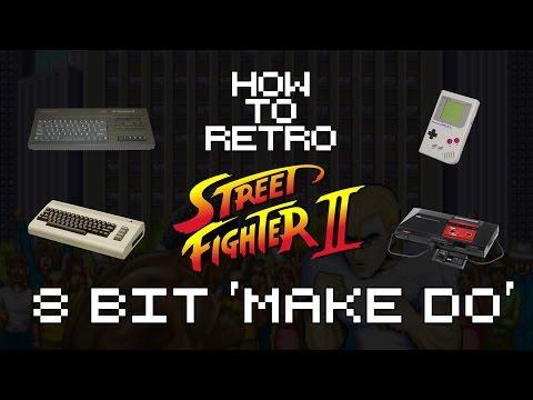 Street Fighter 2 - 8 Bit Version Comparison | How To Retro