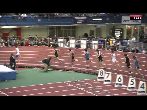 105th Millrose Games - Centrowitz wins and Batty sets NCAA record in NYRR Wanamaker Mile