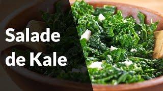 Recette Healthy - Salade de kale