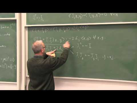 Vector Fields on Spheres and Clifford Algebras