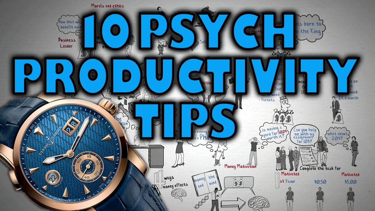 Download 10 Psychological Productivity Tips - How To be more Productive!