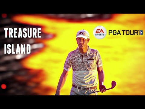 Rory McIlroy PGA Tour - DUSTIN JOHNSON ON TREASURE ISLAND! (Ps4/Xbox One Gameplay HD)