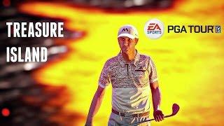 Rory McIlroy PGA Tour - DUSTIN JOHNSON ON TREASURE ISLAND! (Ps4/Xbox One Gameplay HD)