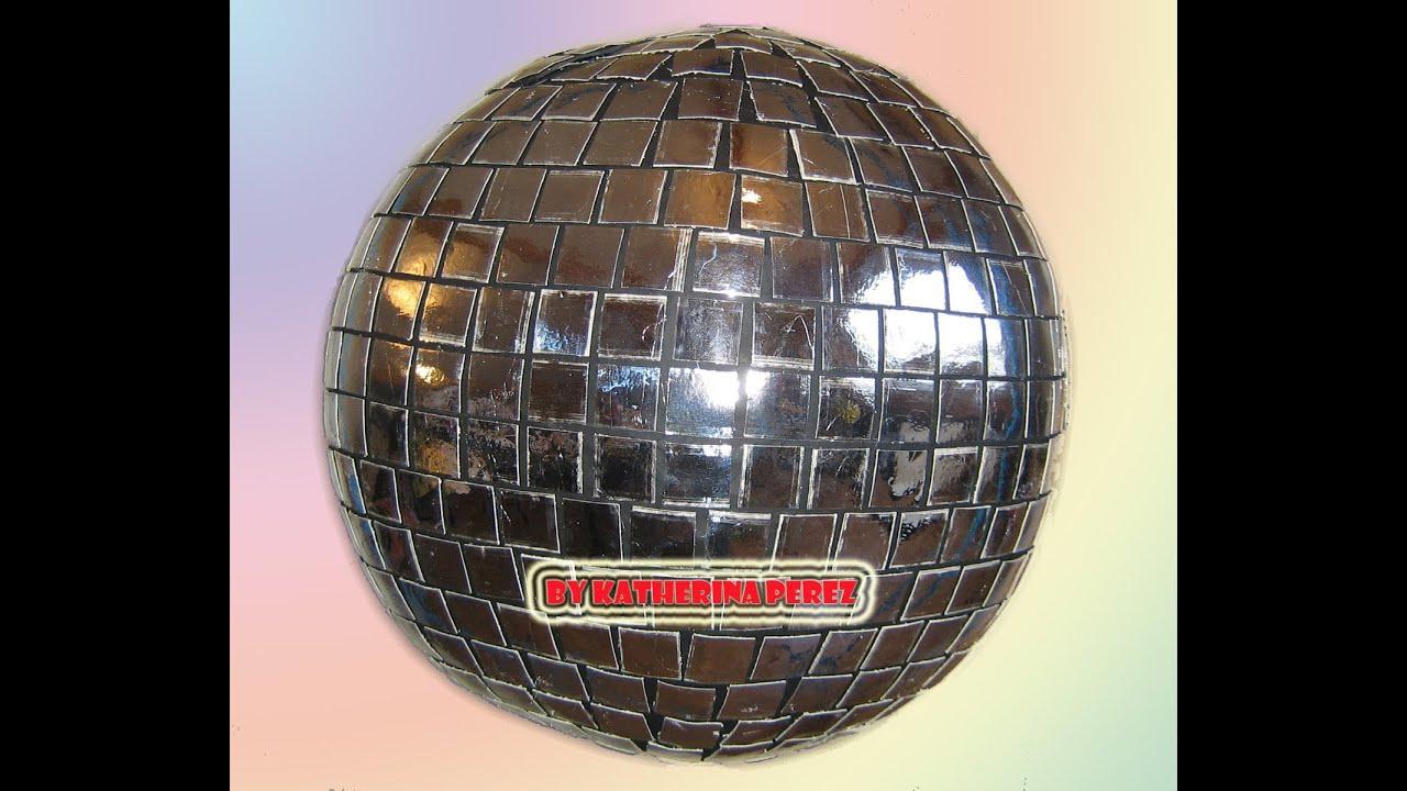 Bola disco pinata disco ball pinata youtube - Bola de discoteca de colores ...