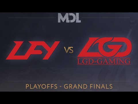 LFY vs LGD - MDL 2017 Grand Final - G3