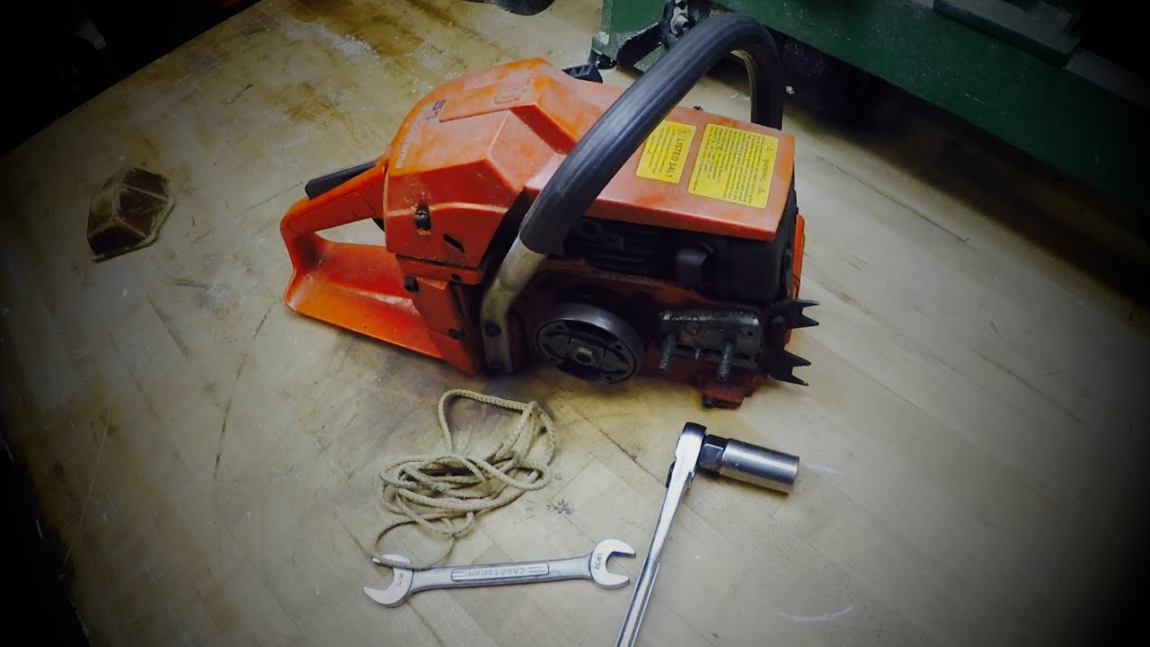 Chainsaw Clutch Removal