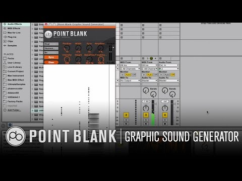 Ableton Live Graphic Sound Generator: Free Max for Live Download