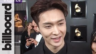 Lay Zhang on First Grammys & Hopes for Performing at The Show in The Future | Grammys