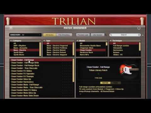 Spectrsonics Trilian Bass Module Overview