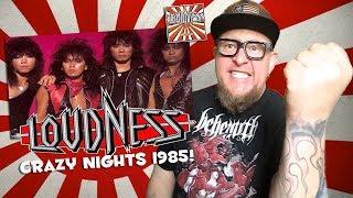 "Baixar Reaction to LOUDNESS ""Crazy Night"" 1985"