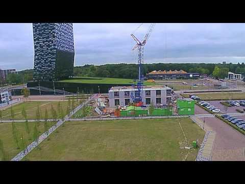 Time lapse Building EPR @Novio Tech Campus