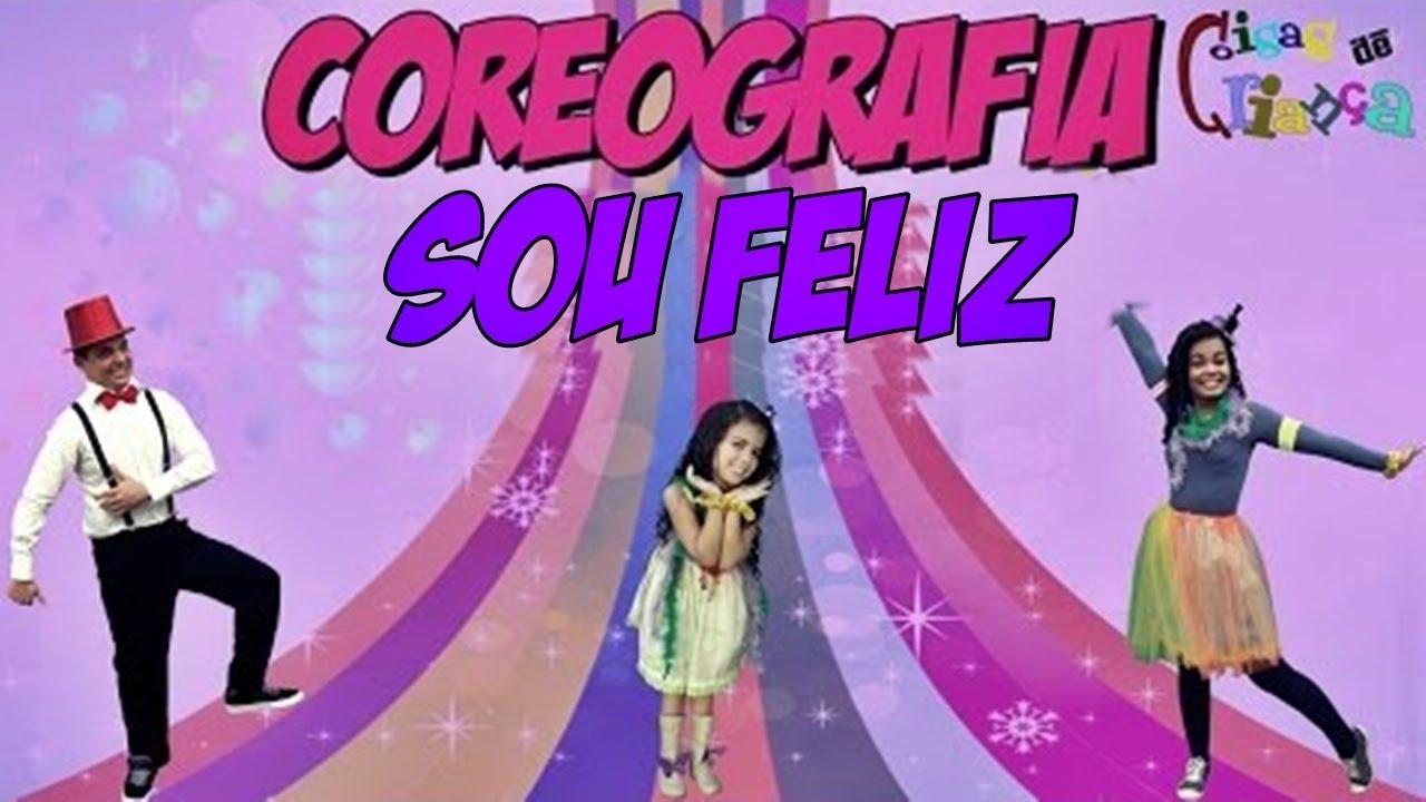 Turma Kids e Cia - SOU FELIZ (Coreografia Infantil) - Funk Gospel para Crianças