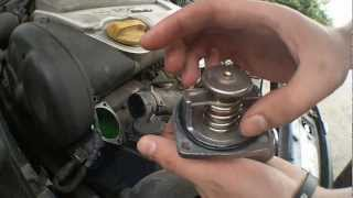 Changing thermostat (Opel Vectra b X16XEL)