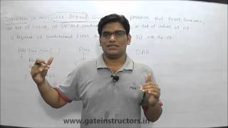 Design and Analysis of Algorithms, Algorithms and Data Structures Video Lecture for GATE Preparation (CS IT MCA)