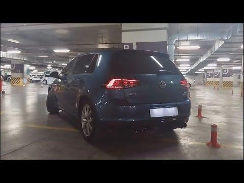VW Golf 1.4 TSI DSG ABT Exhaust   Fragman II