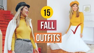 15 Fall Outfit Ideas! What to Wear When You Have Nothing to Wear EP 5!