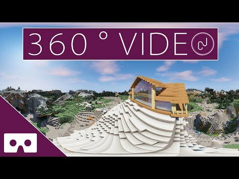 J Builds A New Minecraft House VR 360°