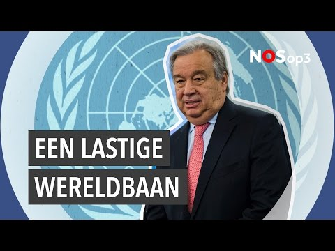 Wat doet een secretaris-generaal van de VN? | NOS op 3