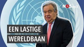 Wat doet een secretaris-generaal van de VN?   NOS op 3