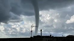 Seltenes Wetterphänomen in Genua