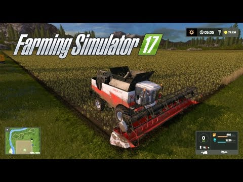 Farming Simulator 17--Private World #11!--LOTS AND LOTS OF POWER FOOD, NEW TRAILER!