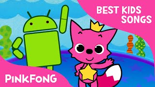 The Hokey Pokey with the Android robot | Best Kids Songs | PINKFONG Songs for Children