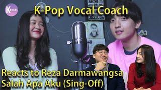 Download Mp3 K Pop Vocal Coach Reacts to Reza Darmawangsa Salah Apa Aku