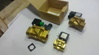 Электромагнитные клапаны ODE и Raifil - обзор , сравнение конструкции