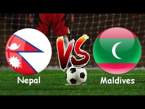 Nepal VS Maldives | AFC U18 Championship 2018 | Live | 720p 60 FPS