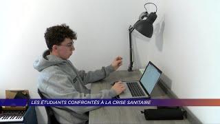 Yvelines | Les étudiants confrontés à la crise sanitaire