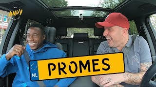Quincy Promes part 1 - Bij Andy in de auto! (English subtitles)