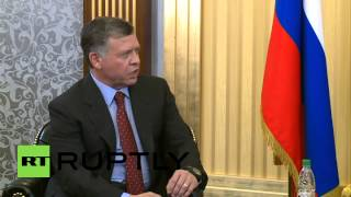 Russia: Chechen Republic welcomes King of Jordan in official visit