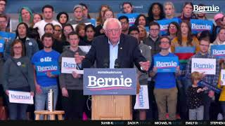 Bernie 2020 Rally in Council Bluffs, IA with AOC