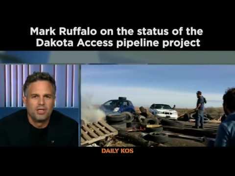 Mark Ruffalo on the status of the Dakota Access pipeline protest