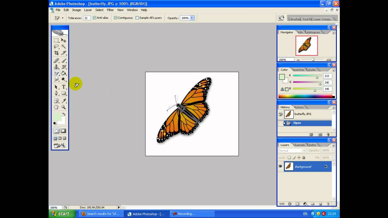 photoshop how to play image