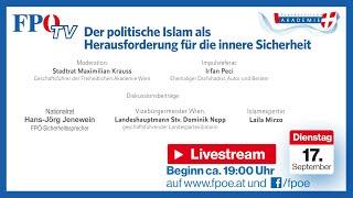 Podiumsdiskussion: Der poltische Islam als Herausforderung für die innere Sicherheit